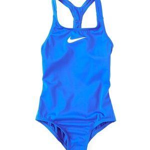 Nike Big Girls Racerback One-Piece Swimsuit